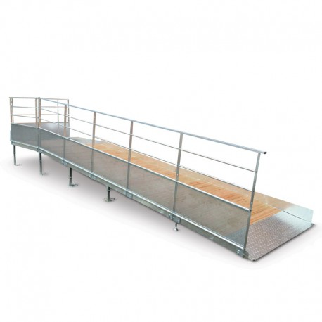 rampe d acc s pmr modulaire. Black Bedroom Furniture Sets. Home Design Ideas